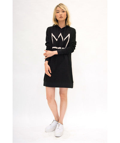 Basquiat Hooded Dress