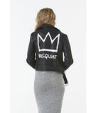 Basquiat Vegan Leather Jacket