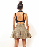 Backless Bonded Strap Top