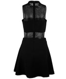 Caroline Court Dress Black