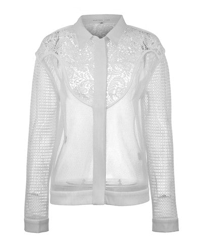 Cayuse Lace Jacket White