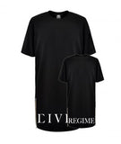 Civil Regime Long Tee Black