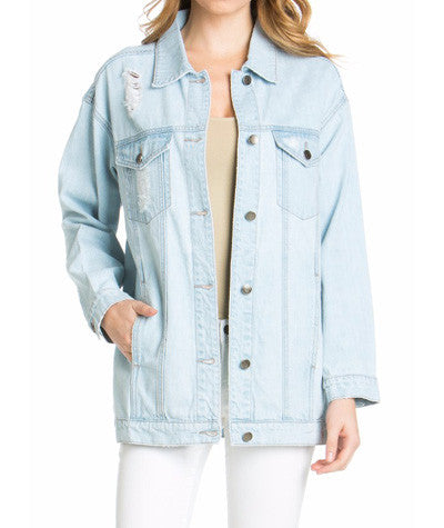 Denim Boyfriend Jacket