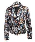 Floral Motorcycle Jacket