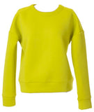 Foam Sweater Lime