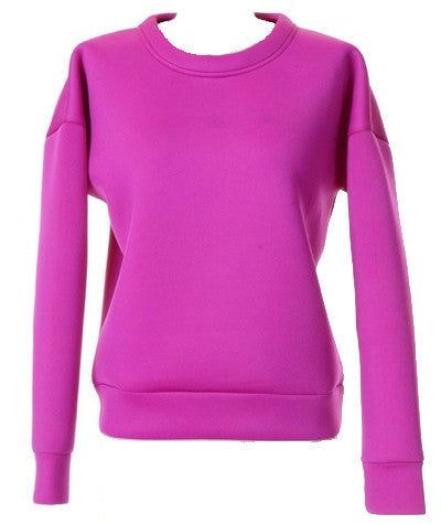 Foam Sweater Purple