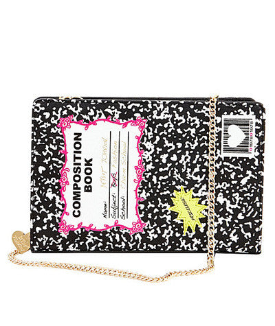 Kitch Composition Book Crossbody
