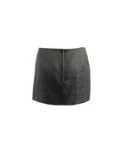 Metallic Envelope Skirt