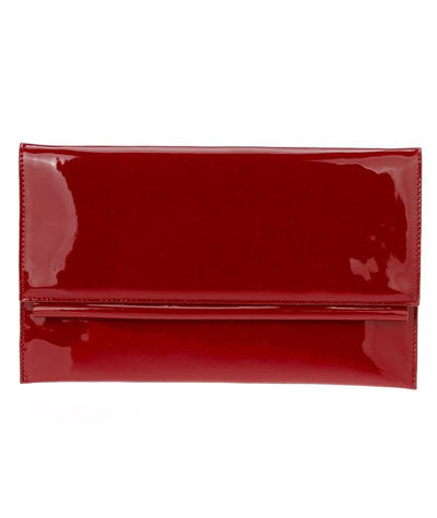 Patent Clutch Red