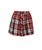 Button Up Plaid Skirt