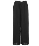 Plisse Pleated Pants