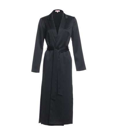 Robe Coat Black