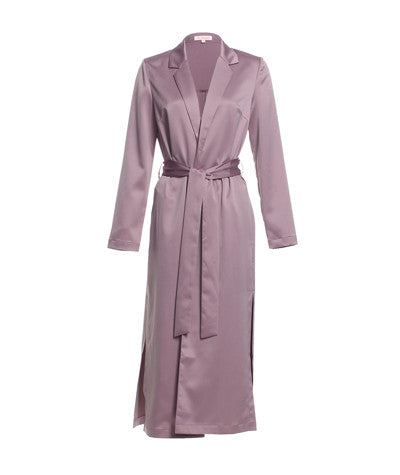 Robe Coat Mauve