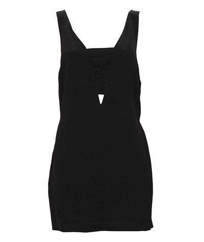 Shoulder Strap Back Dress