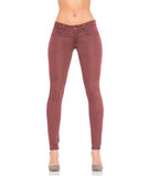 Skinny Jeans Black Cherry