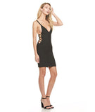 Mini Bandage Dress Black