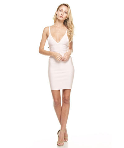 Mini Bandage Dress Pink