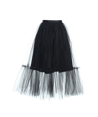 Tulle Tutu Skirt Black