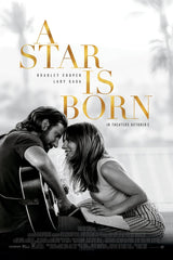 A Star Is Born (2018) movie poster, sourced from IMDB.com