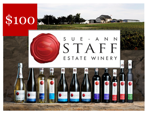 Sue-Ann Staff Estate Winery - DIGITAL GIFT CARD