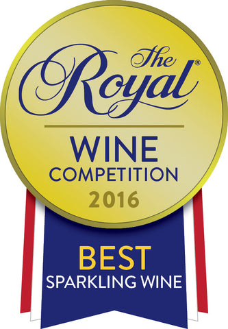 2013 Iridescence Sparkling Riesling - Best in Show, Sparkling at the 2016 Royal Wine Competition