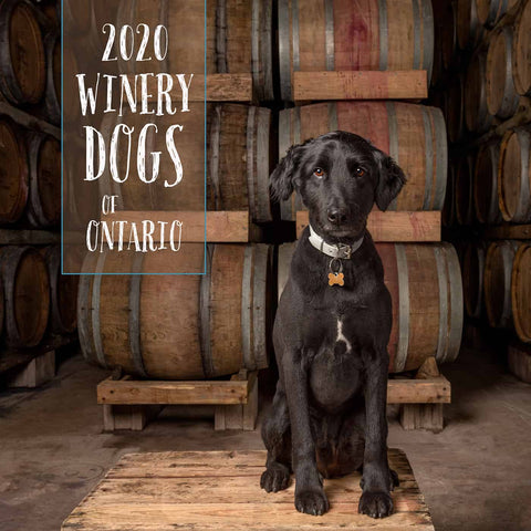 2020 Winery Dogs of Ontario Calendar, $28.19 ($24.95+HST)