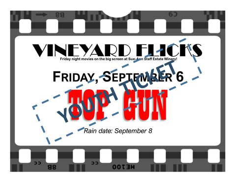 Vineyard Flicks: A STAR IS BORN Youth ticket $10.17 ($9+hst)