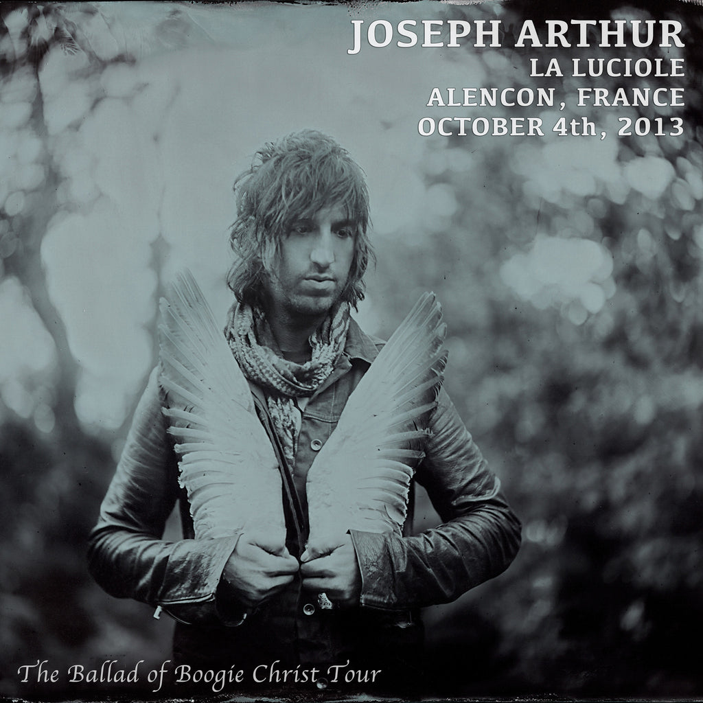 Joseph Arthur - La Luciole - Alencon, France  10/4/13 DIGITAL DOWNLOAD