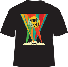 Sound Summit 2016 Men's Black Festival T-Shirt
