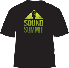 Sound Summit 2016 Men's Black Logo T-Shirt