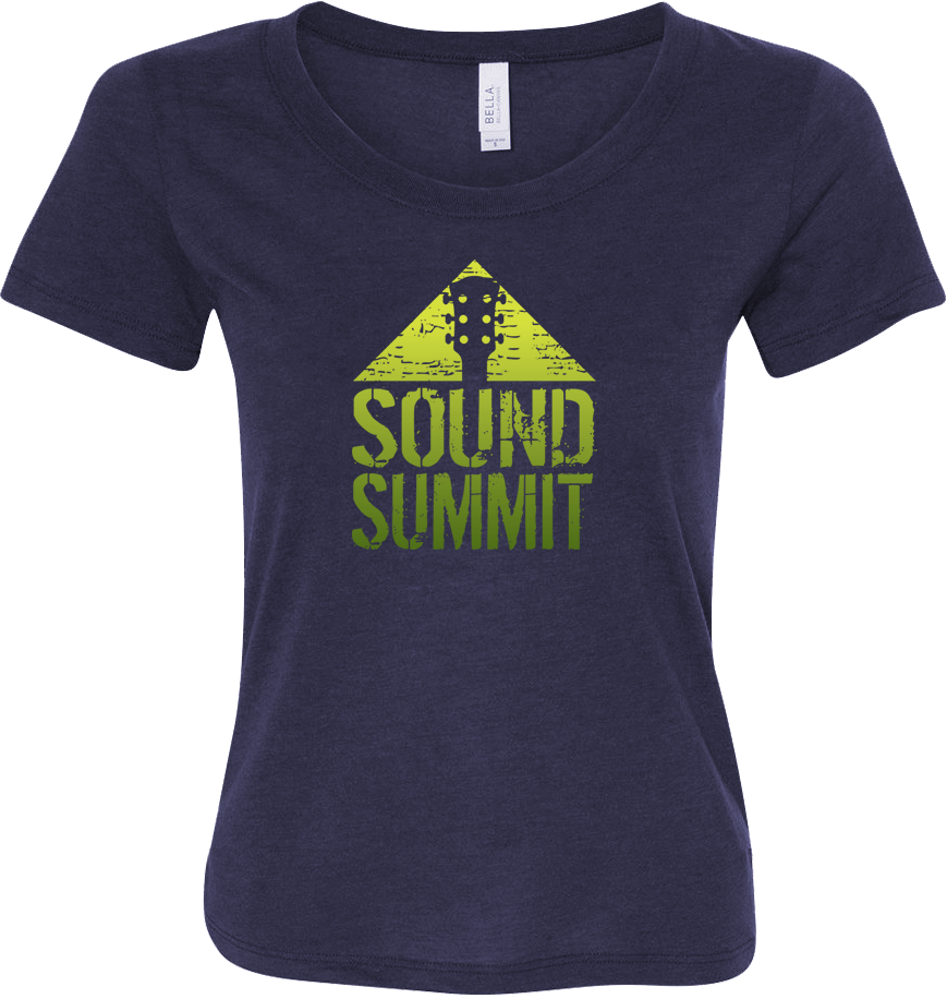 Sound Summit 2017 Women's Navy T-Shirt