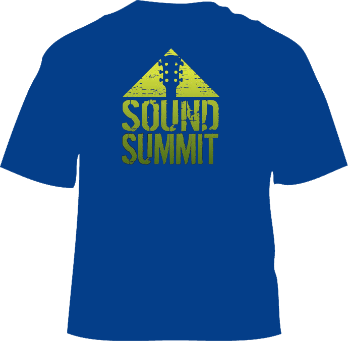 Sound Summit 2017 Royal Blue Men's T-Shirt