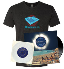 "'Mirrors' Vinyl + ""Beggin'"" 7 inch Vinyl + 388 Heather Black T-Shirt Bundle"