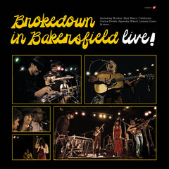 Brokedown in Bakersfield - Live! CD
