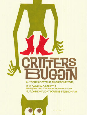Critters Buggin - December 2006 Poster