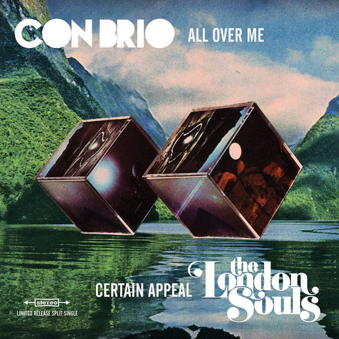 "Con Brio - Split 7"" with The London Souls VINYL"