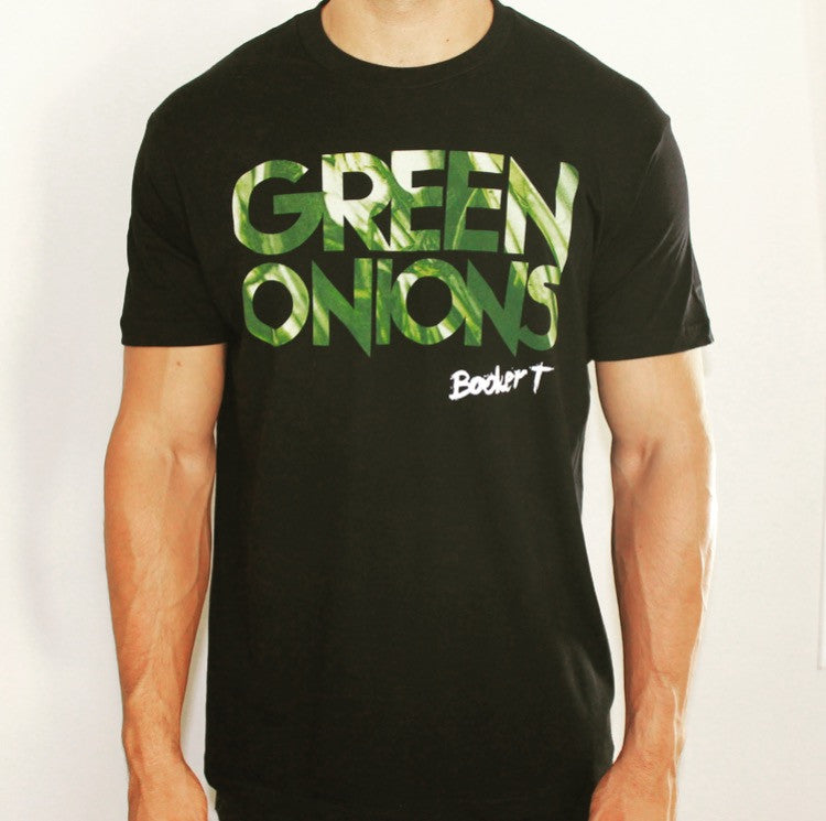 Booker T - Green Onions T-Shirt (Black)