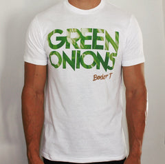 Booker T. Green Onions T-Shirt (White)