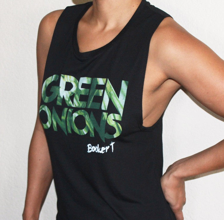 Booker T. Green Onions Camisole (Black)