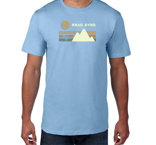 Brad Byrd - Highest Mountain Unisex T-Shirt
