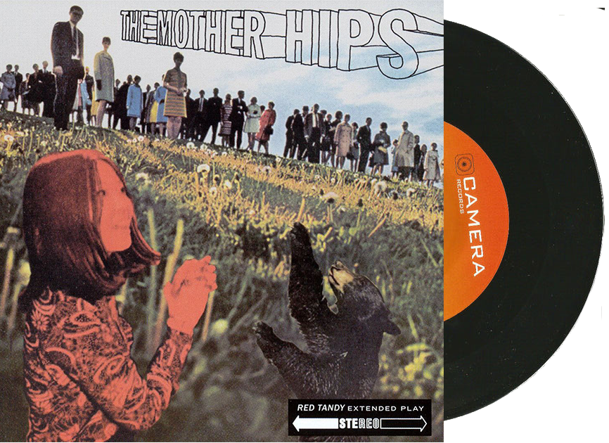 "Mother Hips ""Red Tandy"" 7-Inch Vinyl (b/w ""Blue Tomorrow"")"