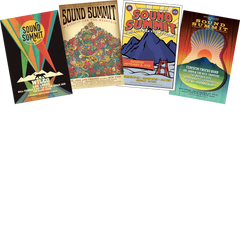 Sound Summit Poster Bundle (2015 - 2018)