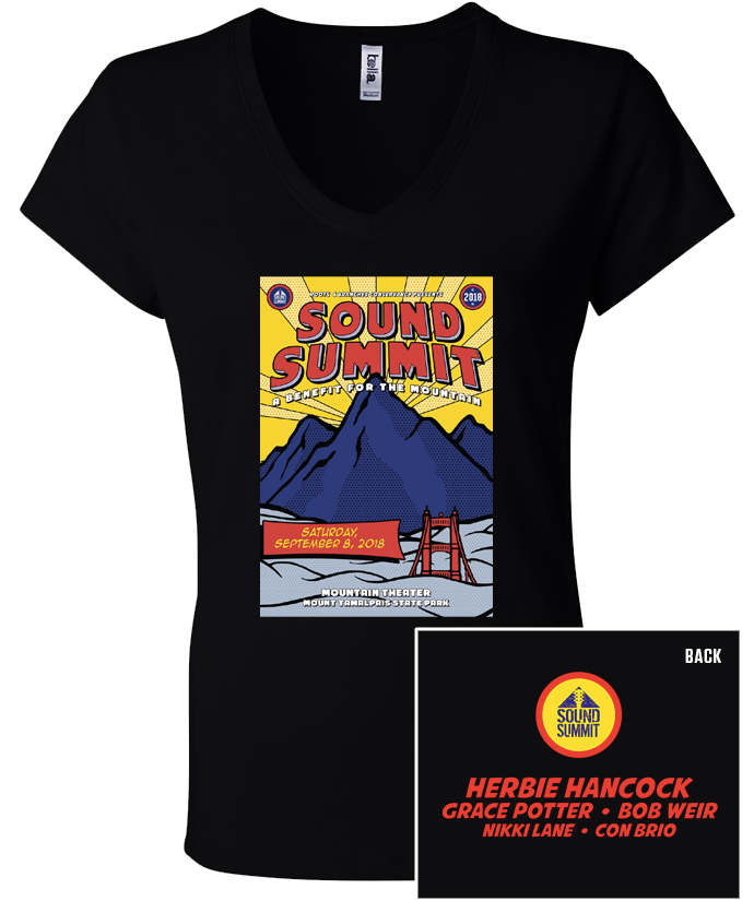 Sound Summit 2018 Black Women's T-Shirt