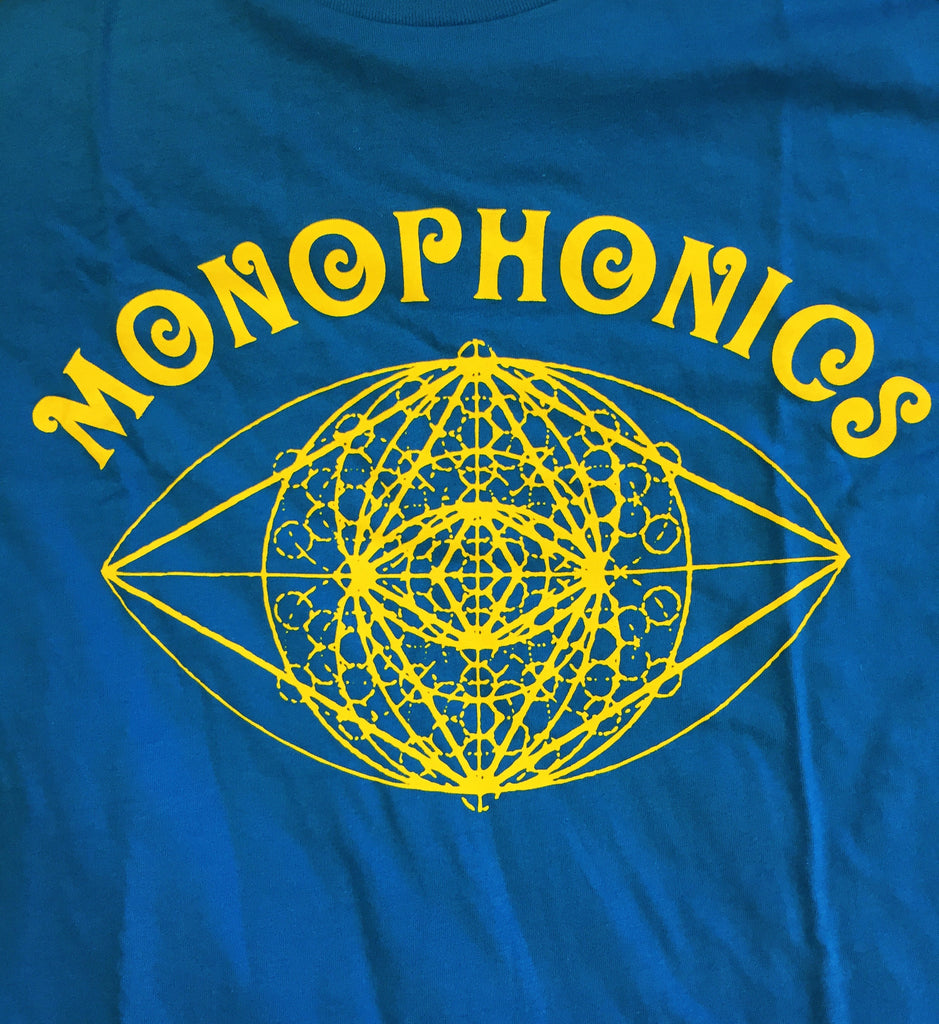 Monophonics Eyeball Blue T-Shirt