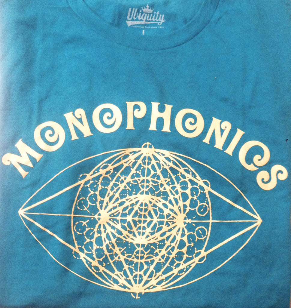 Monophonics Women's Light Blue Eyeball T-Shirt