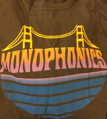 Monophonics Charcoal Bridge T-Shirt