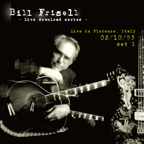 Bill Frisell Live In Florence, Italy 02/10/93