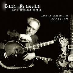 Bill Frisell Live In Oakland, CA 07/15/89