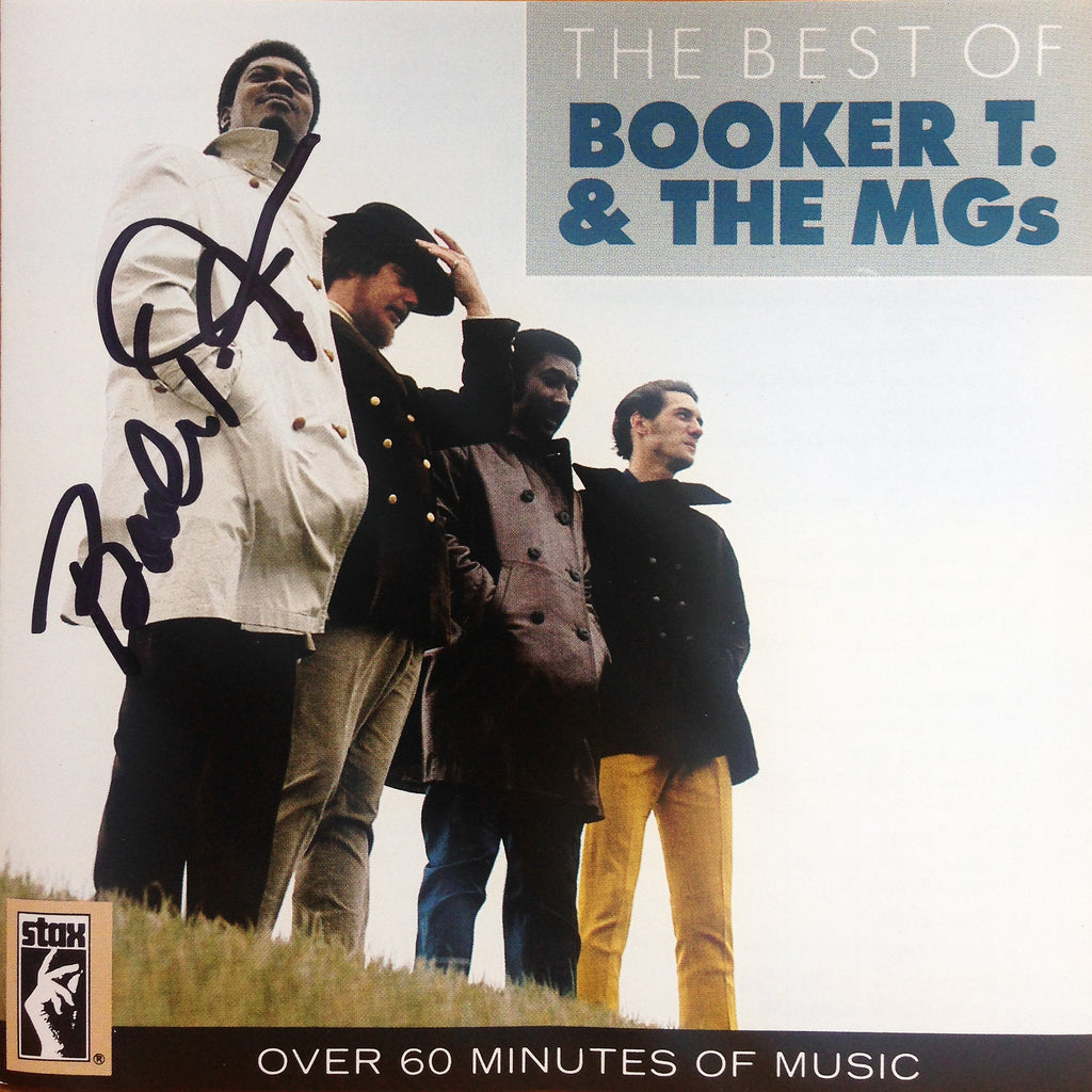 Booker T. - The Best Of Booker T. & The MGs CD (AUTOGRAPHED)