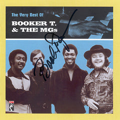 Booker T. - The Very Best Of Booker T. & The MGs CD (AUTOGRAPHED)